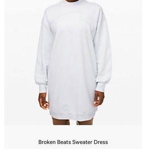Broken Beats Sweater Dress